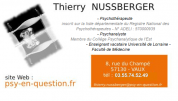 Logo Nussberger Thierry